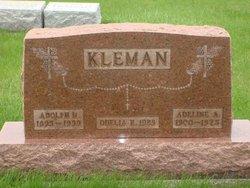 Adeline Anna <i>Kreinbrink</i> Kleman