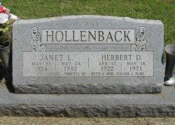 Herbert Dewey Hollenback