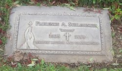 Florence A Schlesinger