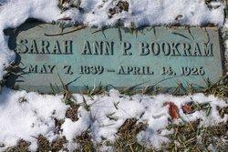 Sarah Ann P. <i>Pettiford</i> Bookram