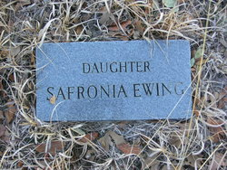 Safronia Fronia Ewing