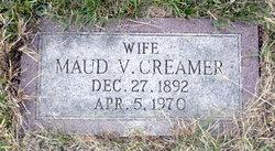 Maude V <i>Edwards</i> Creamer