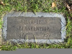 Charles Stacy Charlie Blankenship