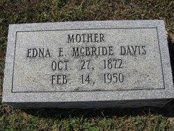 Edna Emmaline <i>Mcbride</i> Davis