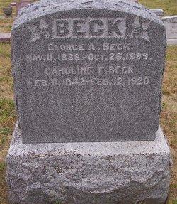 Caroline Elizabeth <i>Tenney</i> Beck