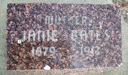 Eliza Jane Janie <i>Briggs</i> Bates