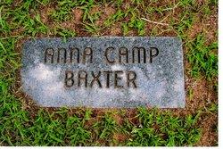 Anna <i>Camp</i> Baxter