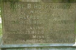 Rose B <i>Hockenbury</i> Davis