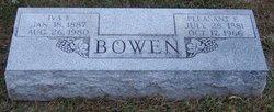 Iva E. <i>Miller</i> Bowen