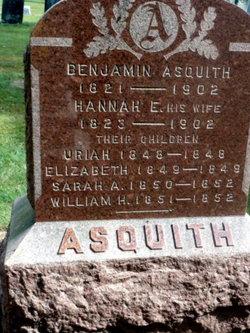 Hannah Eliza <i>Sharp</i> Asquith