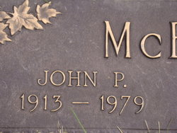 John Peter Joseph McEntaffer