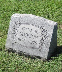 Trena Wilhelmina (Meekins) <i>Tannehill</i> Simpson