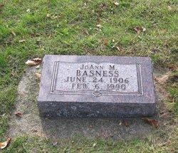 Hannah M <i>Meyer</i> Basness
