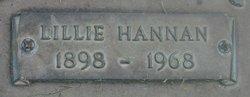 Lillie Ellen <i>Hannan</i> Borah