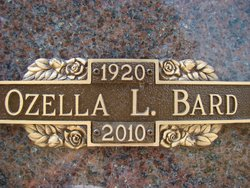 Ozella L <i>Graves</i> Bard