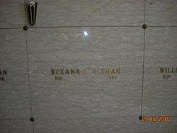 Roxana L. <i>Hutchings</i> Altman