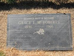 Grace E. <i>Fitzgerald</i> McRoberts