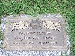 Ethel L <i>Welch</i> Bluejacket-Huckaby
