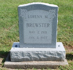 Lorena M <i>Scott</i> Brewster