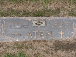 E A Betty Aten