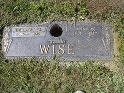 Anna M. <i>Gearhart</i> Wise