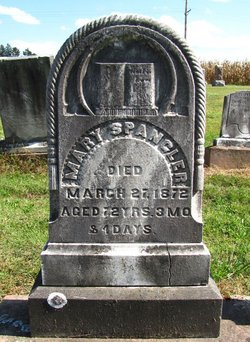 Mary <i>Hobaugh</i> Spangler