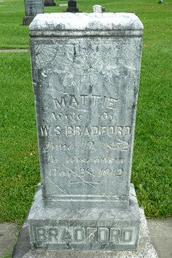 Martha Mattie <i>Kinne</i> Bradford