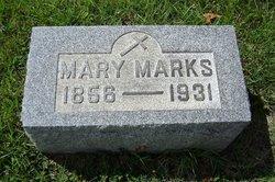 Mary Ann <i>Weaver</i> Marks