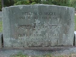 William D McGee