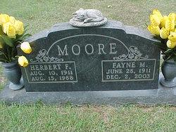 Herbert F Moore