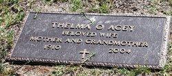 Thelma Olga <i>Hatcher</i> Agey