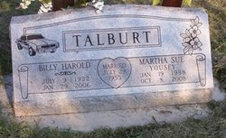 Billy Harold Talburt