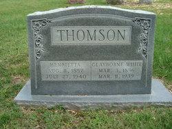 Henrietta D. <i>Thomson</i> Thomson