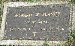 Howard W Blanck