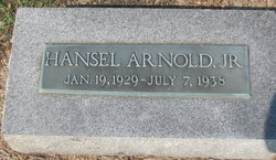 Hansel George Arnold, Jr