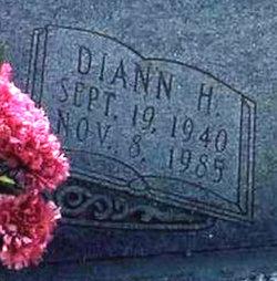 Nellie Diann <i>Hall</i> Almand