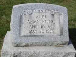 Alice <i>Graham</i> Armstrong
