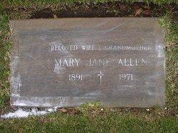 Mary Jane <i>McCann</i> Allen