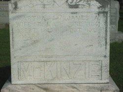 Martha Jane <i>Anderson</i> McKinzie