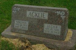 Virginia <i>Kuntz</i> Acklie