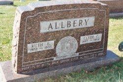 Ruth E <i>Backus</i> Allbery