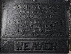 Henrietta <i>Ilgen</i> Weaver