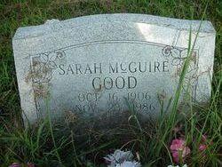 Sarah Alice <i>Mcguire</i> Good