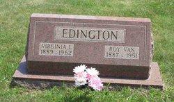 Virginia L Edington
