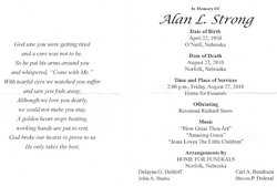 Alan L Strong