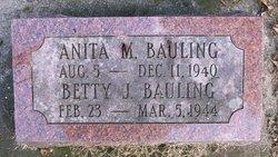 Betty J Bauling