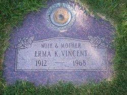 Erma K <i>Keyser</i> Vincent