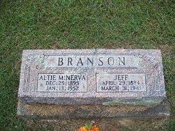 Altie Minerva <i>Redden</i> Branson