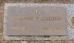 Dorothy V. <i>McGinnis</i> Adamson