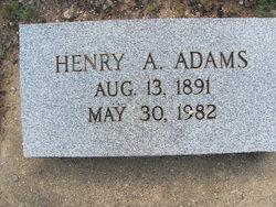 Henry A Adams